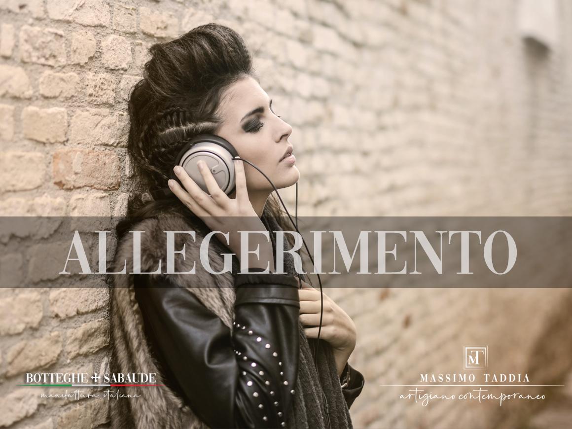 Massimo Taddia __ pellicce a Torino __ ALLEGGERIMENTO