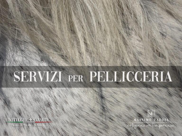 Massimo Taddia __ Pellicce a Torino __ COVER SERVIZI PELLICCERIA __