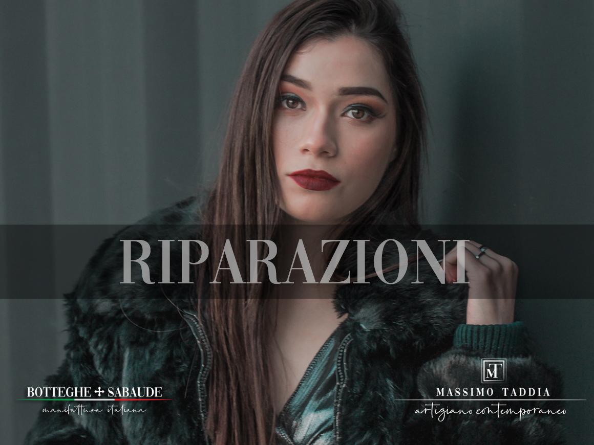Massimo Taddia __ pellicce a Torino __ RIPARAZIONI